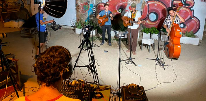Blackmagic Desing solutions for Music for Change