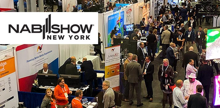 Nab Show New York 2019 floor