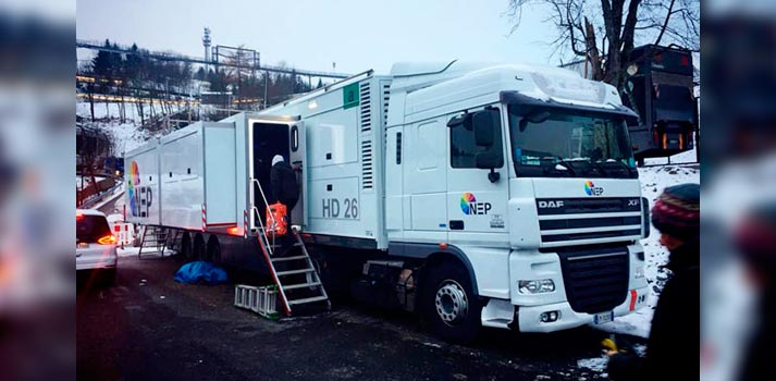 HD26 OB Truck of NEP Italy