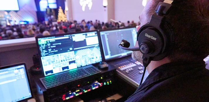 Production of New North Church of San Francisco Peninsula with ClearCom Equipment