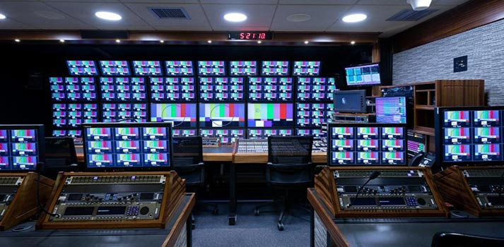 OB Truck integrated by NEP Group with TSL Products' equipment