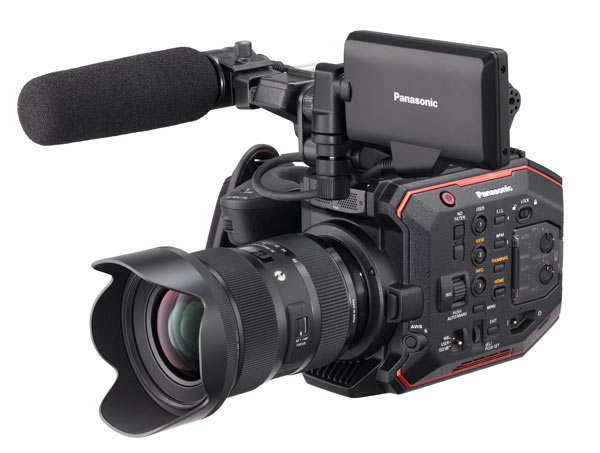 AU-EVA1 is one of the latest cameras from Panasonic