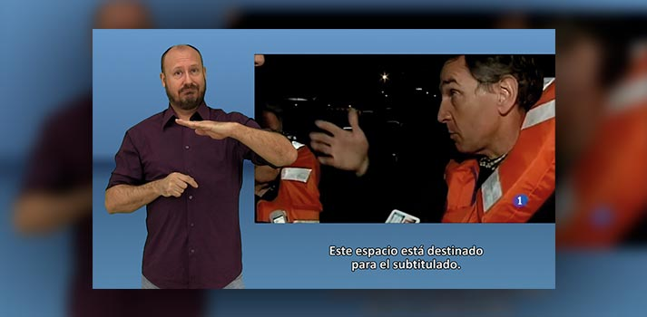 Figure 3 - Providing Sign Language Service in Audiovisual Media Figure