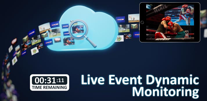 Live Event Dynamic Monitoring for OTT by Qligent