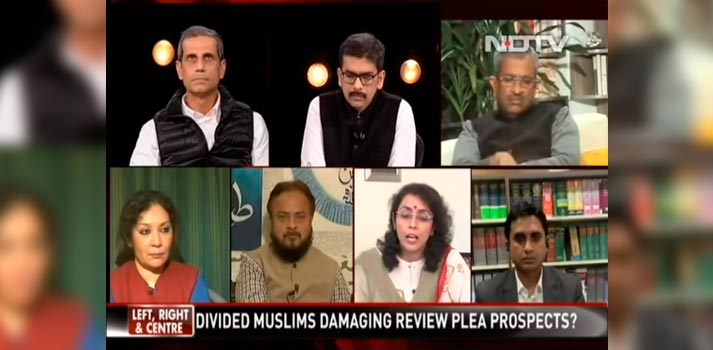 Quicklink TX at NDTV debate