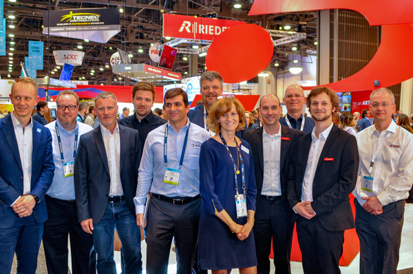 2019 NAB host the showcase of the new API of Riedel