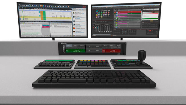 Overdrive control room system powered by Ross Video