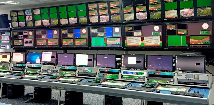 Central Playout Room at SBA