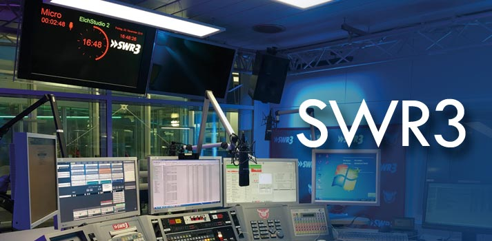 Visual radio studio at SWR3
