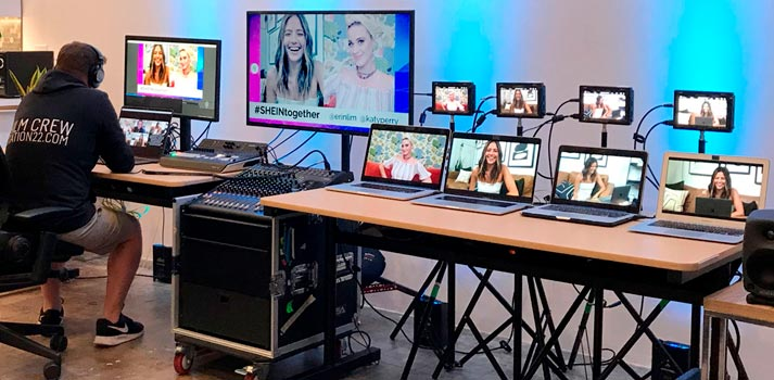 Shein Together production with Blackmagic Design equipment