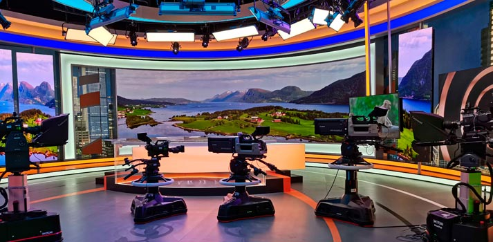 Shotoku Camera Systems at Hunan TV new news studio