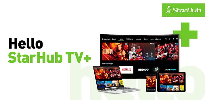 StarHub TV+ platform delivered by Broadpeak