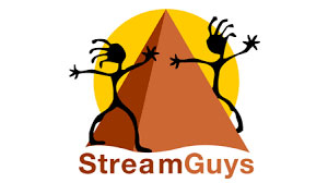 StreamGuys, Logo, magazine broadcast