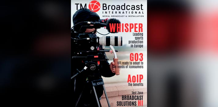 TM Broadcast International 90 cover