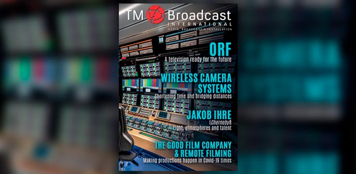 Front Page - TM Broadcast International Magazine 88