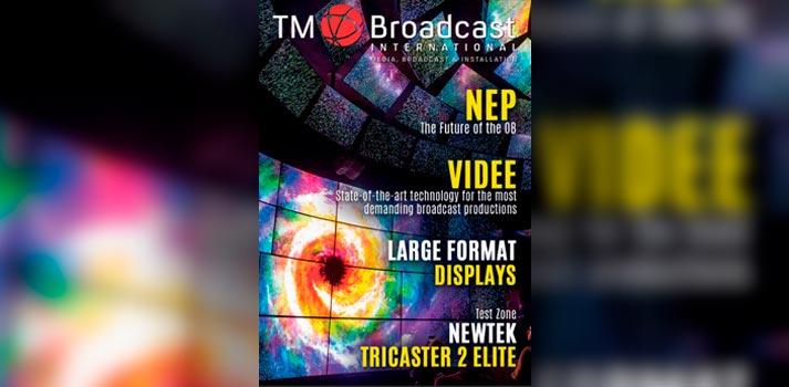 Front cover of TM Broadcast International 89