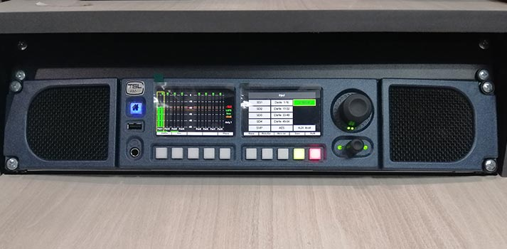 TSL Products solution implemented at Radio Television Malaysia