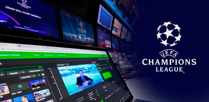 Contribution UEFA Champions League - TVU Networks