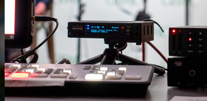 Teradek equipment deployed by Martin Jenoff's production company