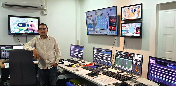 Playbox Neo Channel-in-a-box has been implement at Thailand's TV Direct