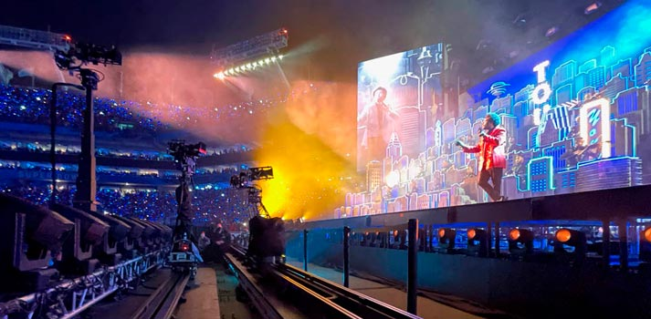 The Weekend - Halftime Show - Super Bowl 2021 - Newton Camera Systems