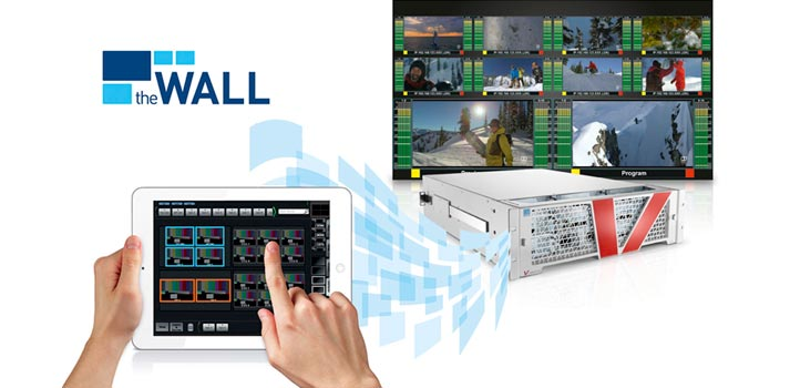thewall software for video walls developed by Lawo