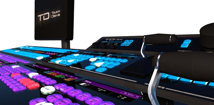 "Ross Video's next generation production switcher panel series for Carbonite ""redefines the relationship between a Technical Director and their switcher"