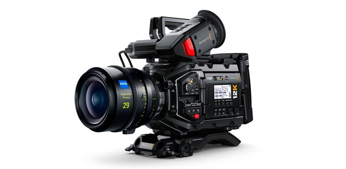 Body + lense Blackmagic URSA Mini Pro 12K