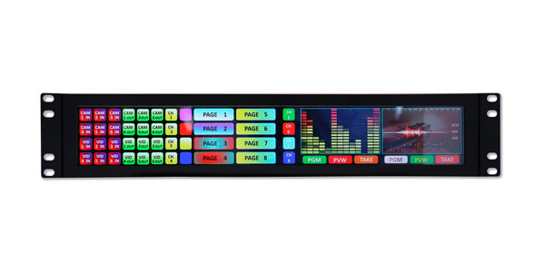 Densitron's latest Rack display with high resolution screen