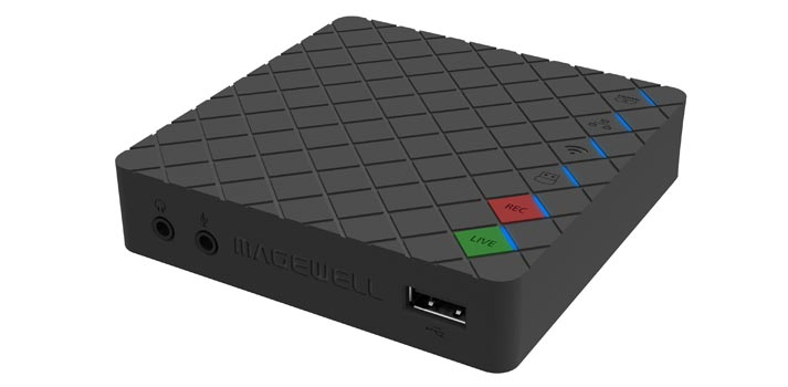 Ultra Stream encoder solution developed by Magewell