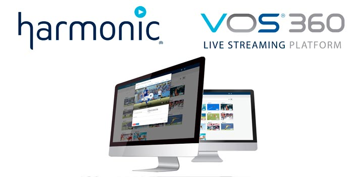 Harmonic VOS360 platform for live streaming
