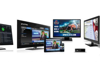 Vitec launches first broadcast-grade integrated IPTV and digital signage platform