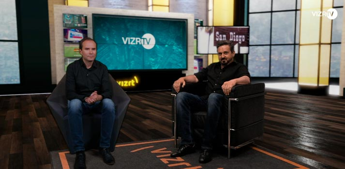 Matrox Monarch EDGE enables Vizrt to deliver low-latency, strikingly-realistic virtual interviews
