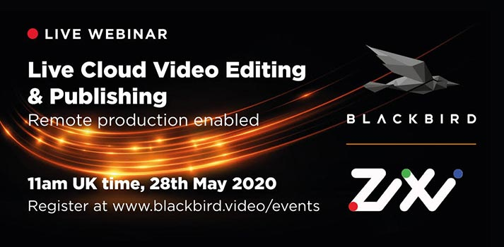 Promo pic Blackbird-Zixi live cloud video webinar