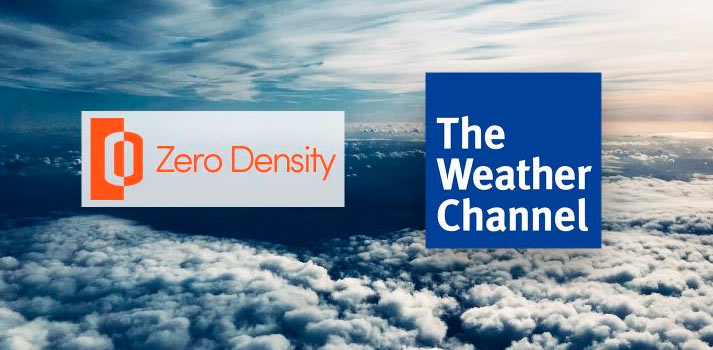 Zero Density and The Weather Channel logos