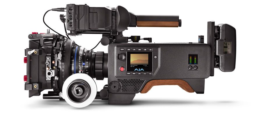 AJA Cion, a cost-effective 4K cinema camera