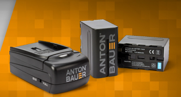 Anton/Bauer announces New 7.2V Series of Li-Ion Batteries and Chargers