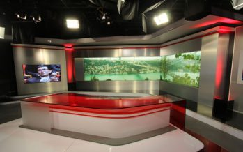 Astel gives Turkey's Kanal D studio a new panorama with Christie HD18K rear-pro and Spyder combination