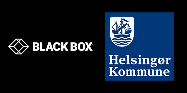 Logos of Black Box and the Danish Helsingor Kommune