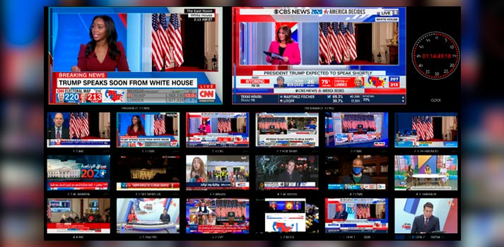 Vizrt solutions deployed at US broadcasters for election night