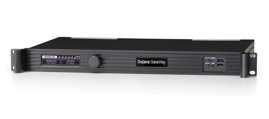 Dejero GateWay M6E6 router at NAB Show