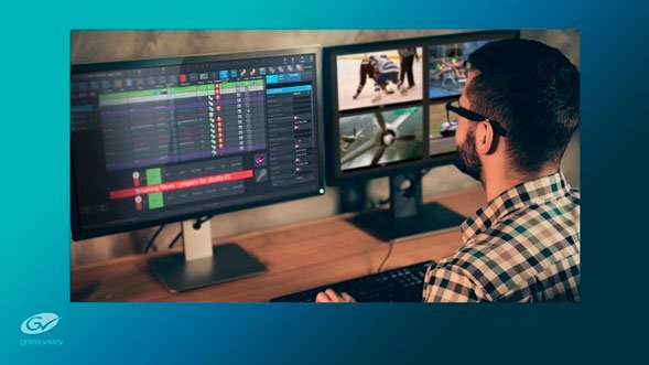 Grass Valley simplifies playout with DIY Solution