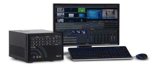 tricaster 40 interface