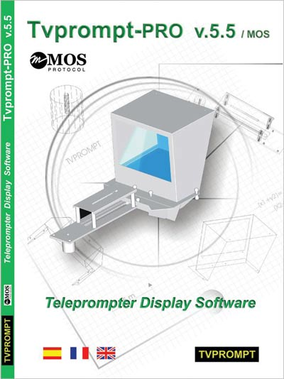 Telempromter Display Software