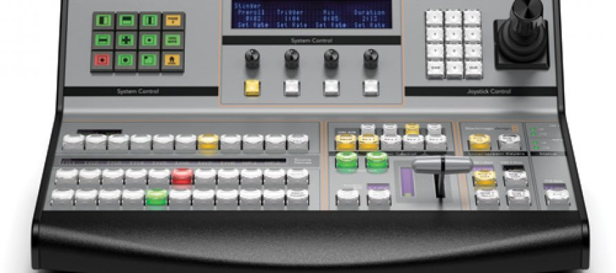 ATEM 2 M/E (Production switcher)/ATEM 1 M/E (Broadcast panel)