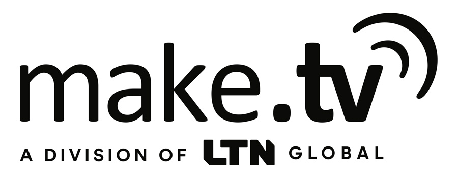 New logo of make.tv, now a division of LTN Global