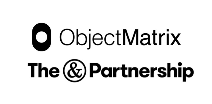 Logos of Object Matrix and The & Partnership