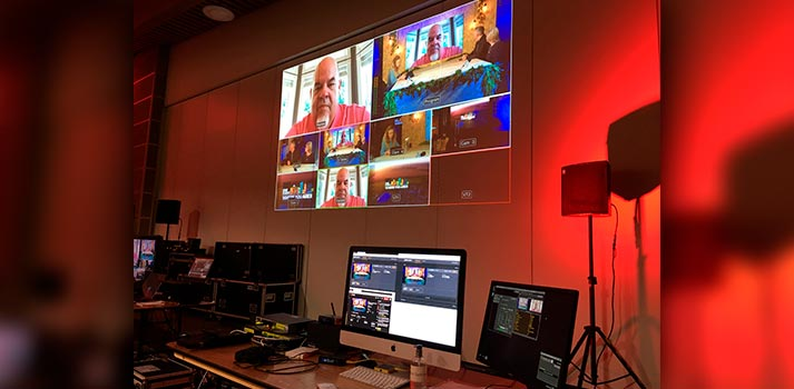 Quicklink studio deployed at Bright Spark Studios production