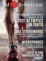 2021 Olympics in TM Broadcast