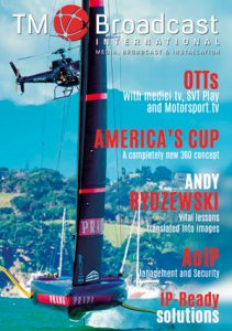 America's cup in TM Broadcast